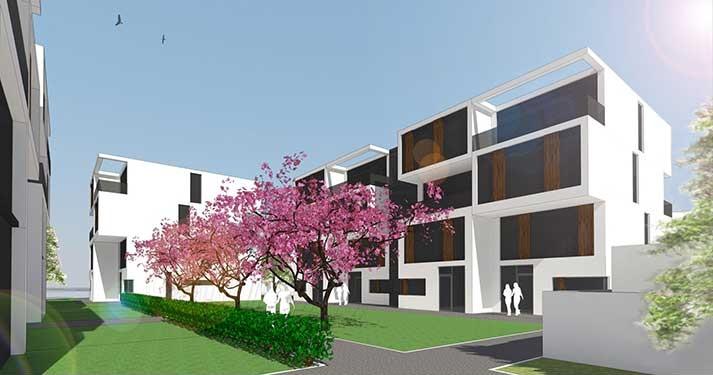 Wohnbebauung Offenbach